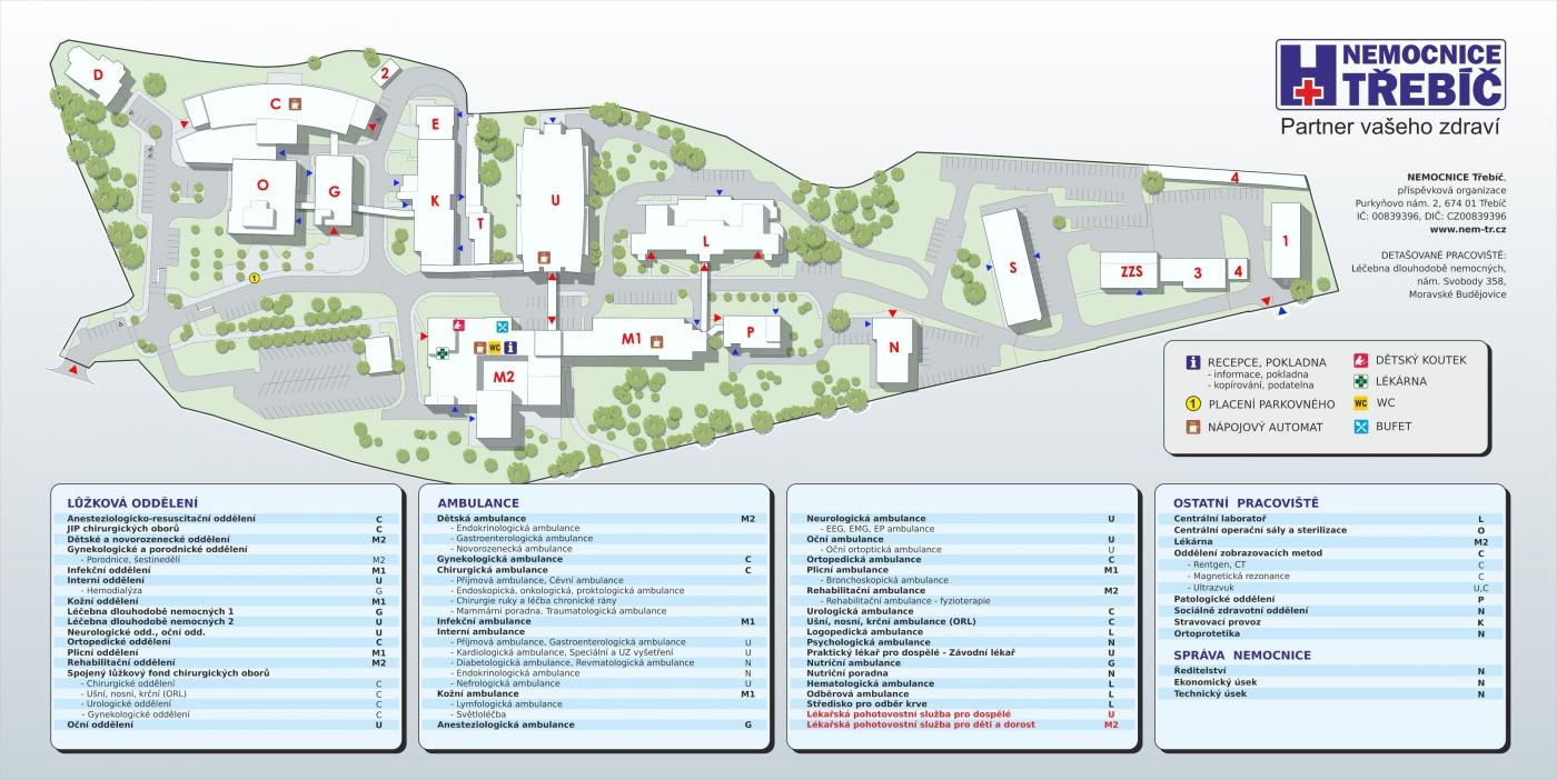 Mapa Nemocnice Nem Tr Cz